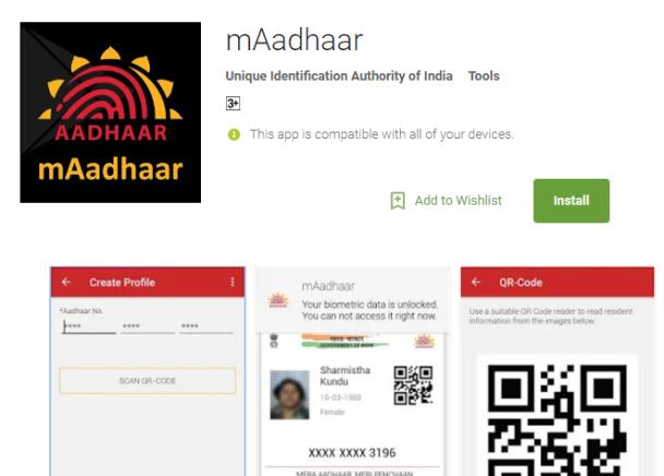 adhar card download apk